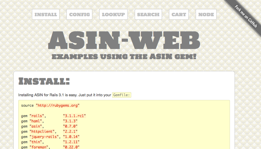 ASIN-WEB