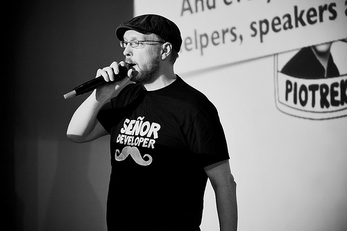 Senor Developer Competition at Scottish Ruby Conference