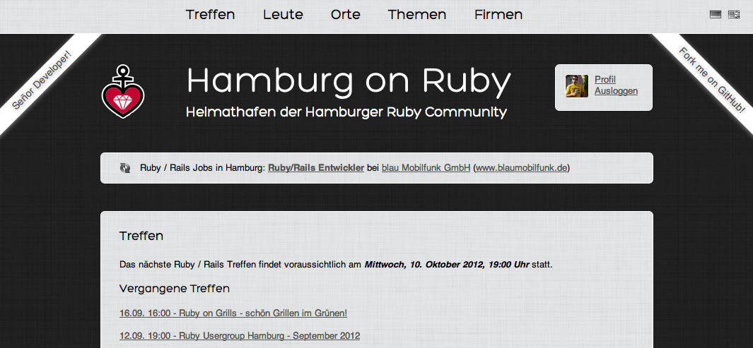 Bringing Usergroups on Ruby